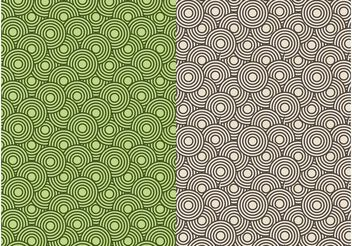 Circle Patterns - vector gratuit #144255