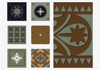 Pattern Tiles - vector #144355 gratis