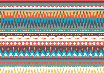 Native American Pattern Vector - Free vector #144435