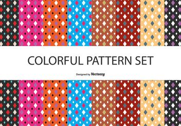 Vector Pattern Set - бесплатный vector #144465