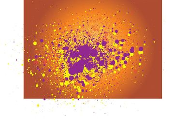 Grunge Explosion Vector - Free vector #144575