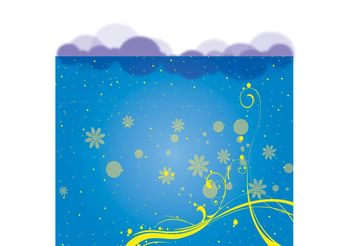 Free Swirly Background Vector - vector gratuit #144595