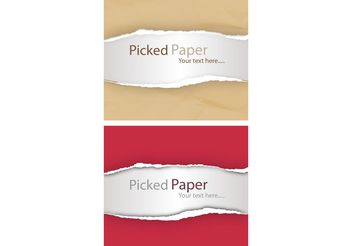 Torn Paper Effects - Free vector #144605