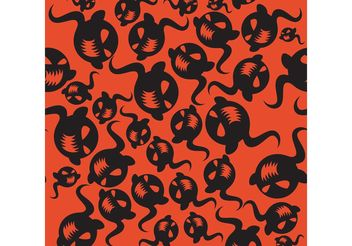 Halloween Pattern 02 - Free vector #144715
