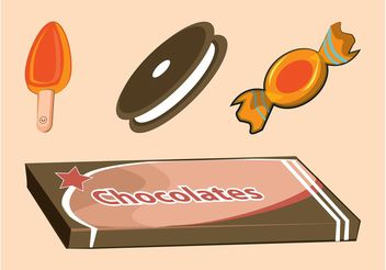 Candy Graphics - vector gratuit #144825