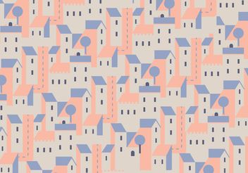Buildings Vector Pattern - Free vector #144855
