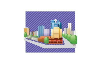 Free City Buildings Vector - vector gratuit #144915