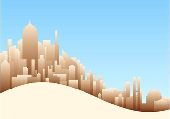 Big City Vectors - vector gratuit #145185