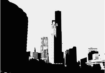 Urban Vector Illustration - Free vector #145235