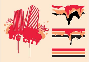 Graffiti Vector Graphics - бесплатный vector #145325