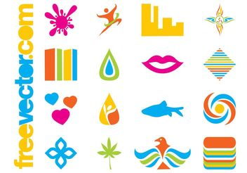 Colorful Icons Pack - vector gratuit #145365