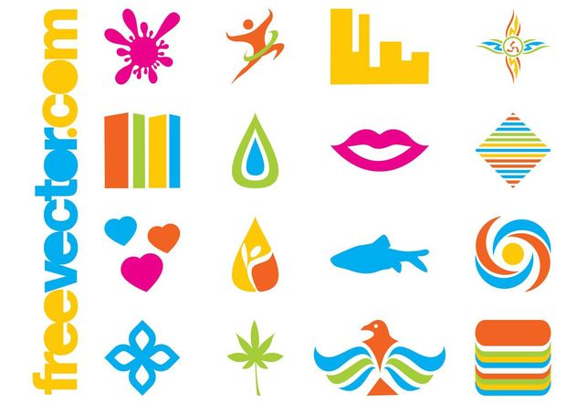 Colorful Icons Pack - Free vector #145365