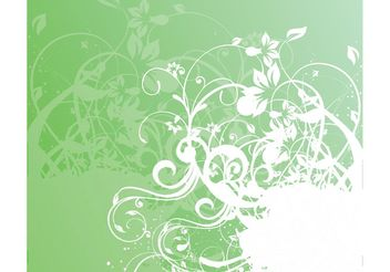 Nature Swirls Graphics - Kostenloses vector #145505