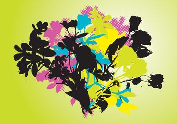 Nature Pop Art - vector gratuit #145525