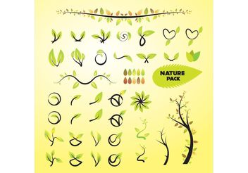 Nature Vector Art Graphics - vector gratuit #145705
