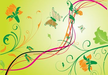 Nature Vector Graphics - Free vector #145715
