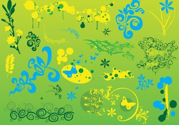 Nature Vector Footage - Free vector #145755