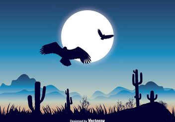 Beautiful Nature Landscape Illustration - vector #145885 gratis