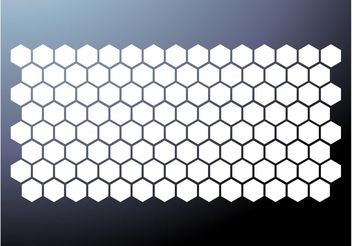 Honeycomb Pattern Vector - Free vector #146125