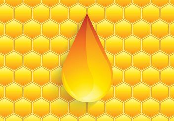 Free Vector Honey Drip - vector #146185 gratis
