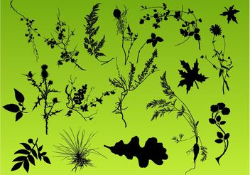 Plant Pack - Kostenloses vector #146305