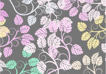 Plant Vectors Background - vector #146335 gratis