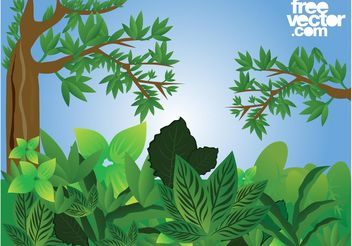 Forest Vector - Free vector #146415