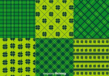 St. Patrick's Day Pattern Vectors - бесплатный vector #146705
