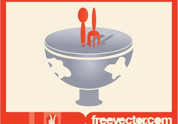 Food Icon Vector Graphics - vector #146765 gratis