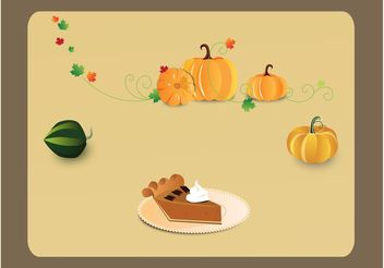 Tasty Food Vectors - vector gratuit #146985