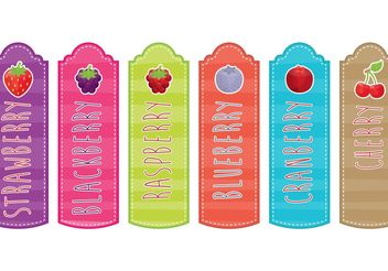 Berry Bookmarks - vector gratuit #147225