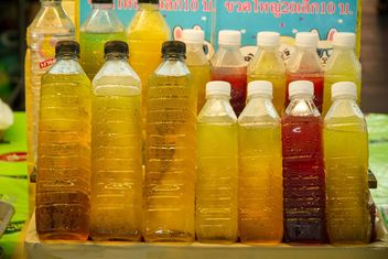 Fresh juice in bottles - image #147915 gratis