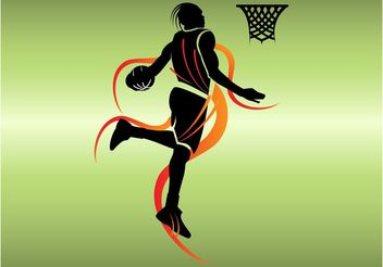 Basketball Vector - vector gratuit #148215