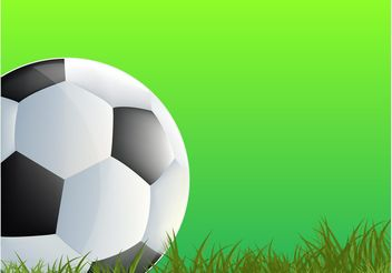 Playing Football - vector gratuit #148245