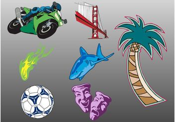 Vector Stickers - Free vector #148515