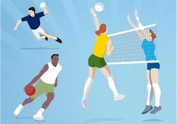 Ball Games - vector #148545 gratis