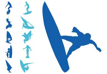 Water Sports Set - Free vector #148675