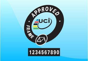 UCI Approved - vector gratuit #149025