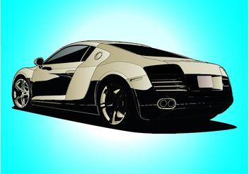 Audi Car Vector Free Vector Download CannyPic - Audi car vector