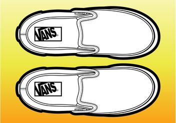 Pair Of Shoes - vector gratuit #149075