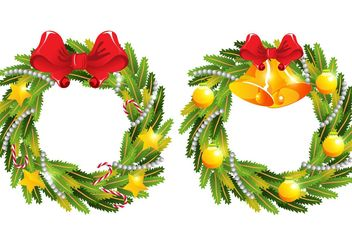 Advent Wreath Vectors - Free vector #149325
