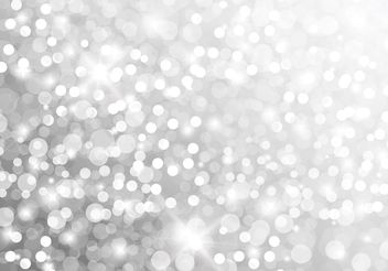 Free Silver Glitter Vector Background - Kostenloses vector #149335