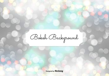 Abstract Bokeh Background Illustration - Free vector #149375