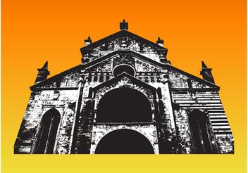 Church Vector - vector #149505 gratis