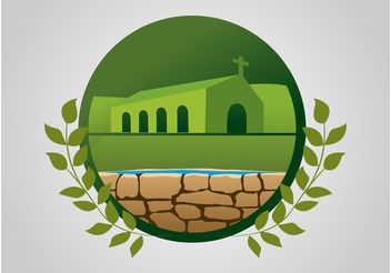Church Icon - vector #149545 gratis