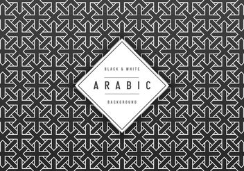 Free Geometric Arabic Vector Background - Free vector #149745
