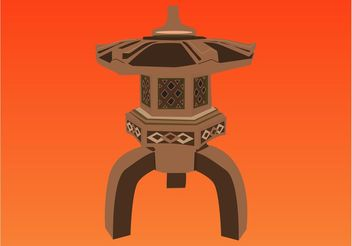 Buddhist Temple - vector #149805 gratis