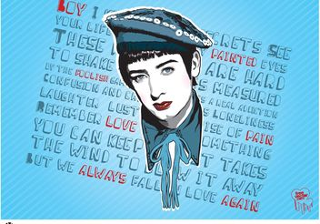 Boy George - vector gratuit #149885