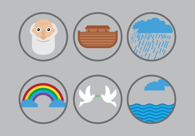 Ark Icon Vector Pack - vector #149895 gratis