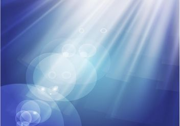Light Rays Effect - vector #150025 gratis